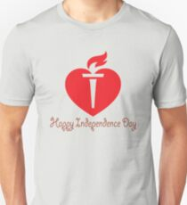 Happy Independence Day Unisex T-Shirt