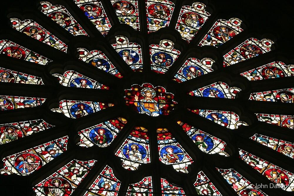 Durham Cathedreal Rose Window by John Dalkin