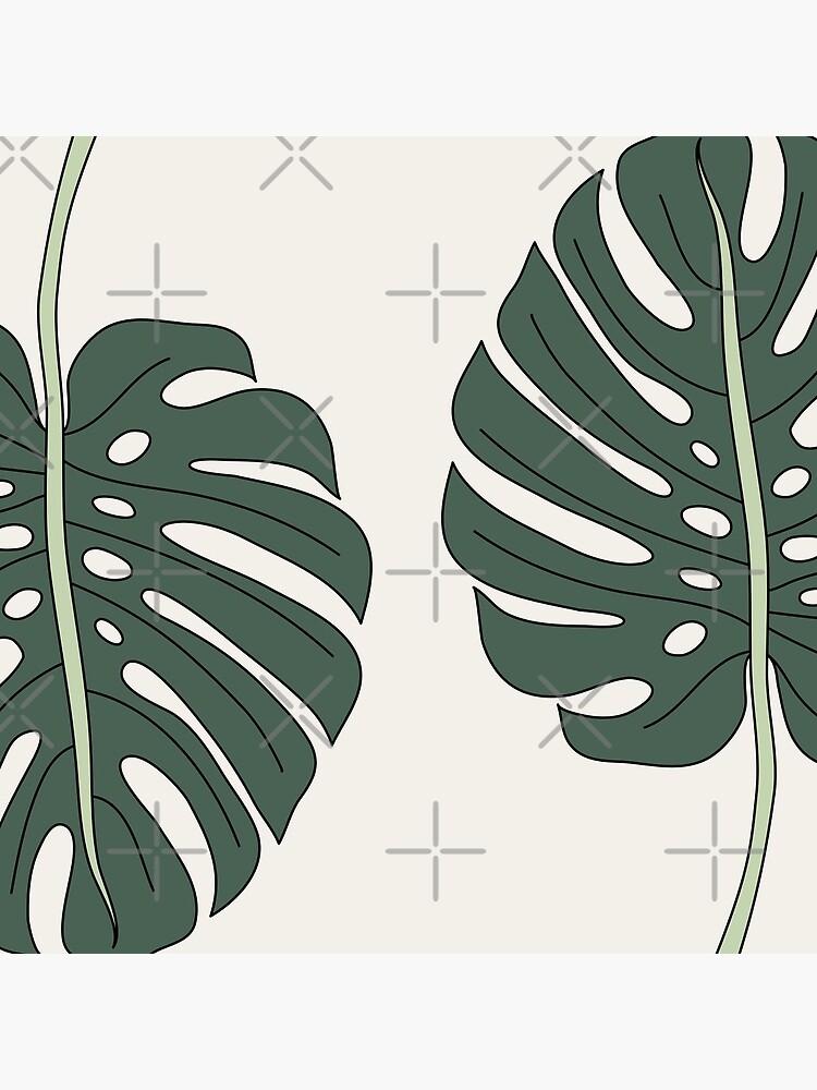 Monstera leaf by Elebea by elebea