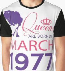 It's My Birthday 41. Made In March 1977. 1977 Gift Ideas. Graphic T-Shirt