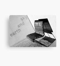 Earth and sky, Balmain Canvas Print