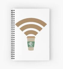 Cofee Zone Spiral Notebook
