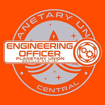 Planetary Union Engineering Officer - Inspired by The Orville by WonkyRobot
