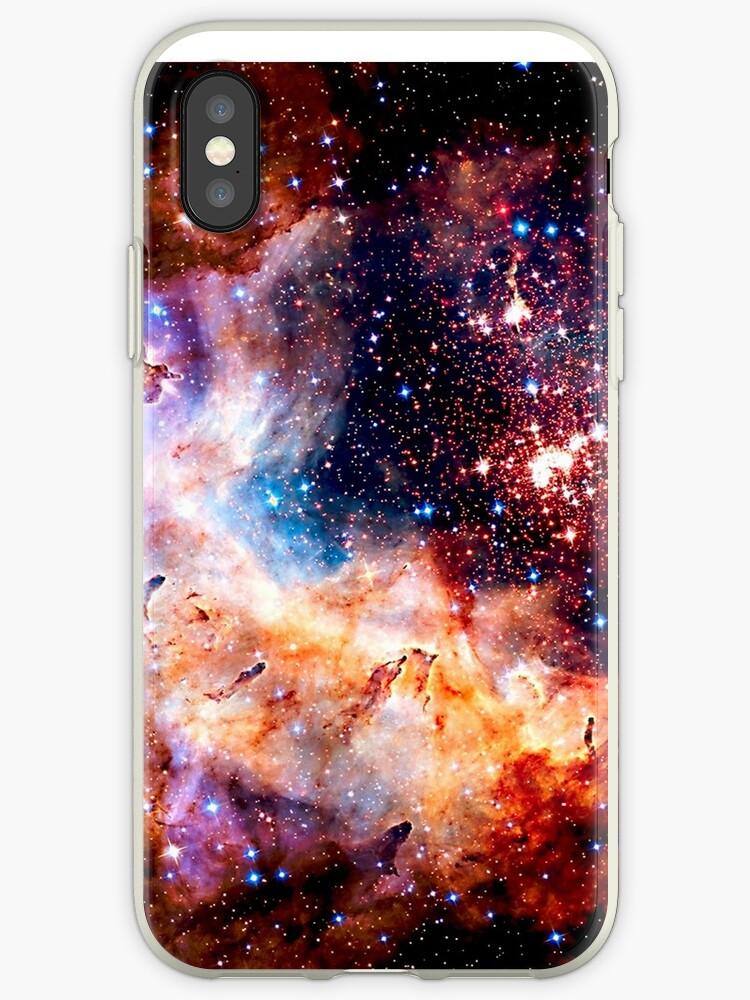 coque iphone xs galaxie