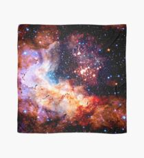 Cosmic Connection, Galaxy, Space, Nebula, Stars, Planet, Universe,  Scarf