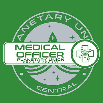 Planetary Union Medical Officer - Inspired by The Orville by WonkyRobot