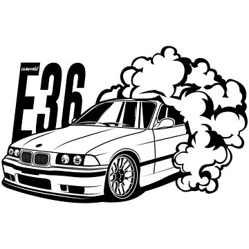 E36 Best Shirt Design by CarWorld