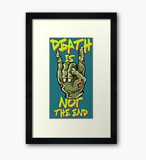 Death Is Not The End Framed Print