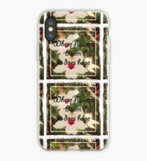 Flowers Bloom iPhone Case