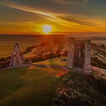 Hadleigh Castle Sunrise 1 by hartrockets