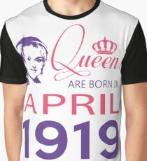 It's My Birthday 99. Made In April 1919. 1919 Gift Ideas. Graphic T-Shirt