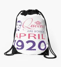 It's My Birthday 98. Made In April 1920. 1920 Gift Ideas. Drawstring Bag