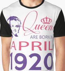 It's My Birthday 98. Made In April 1920. 1920 Gift Ideas. Graphic T-Shirt
