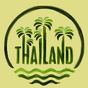Thailand by bubbliciousart