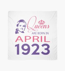 It's My Birthday 95. Made In April 1923. 1923 Gift Ideas. Scarf