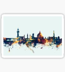 Pegatina Horizonte de Florencia Italia
