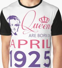 It's My Birthday 93. Made In April 1925. 1925 Gift Ideas. Graphic T-Shirt