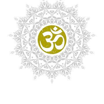 Om Mandala - Meditation Mantra Buddhsim gift by DVIS