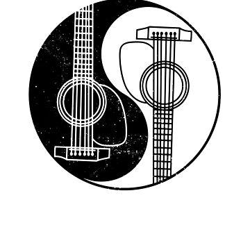 Yin Yang Guitar by DVIS