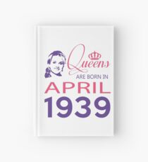 It's My Birthday 79. Made In April 1939. 1939 Gift Ideas. Hardcover Journal