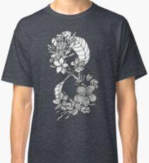 Plumeria Infinity (Frangipani) Flower Pattern Classic T-Shirt