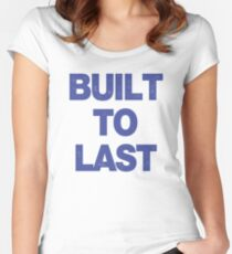 Built To Last (Mac's Shirt) Women's Fitted Scoop T-Shirt