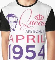 It's My Birthday 64. Made In April 1954. 1954 Gift Ideas. Graphic T-Shirt