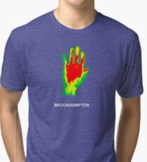 brockhampton iridescence Tri-blend T-Shirt