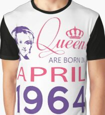 It's My Birthday 54. Made In April 1964. 1964 Gift Ideas. Graphic T-Shirt