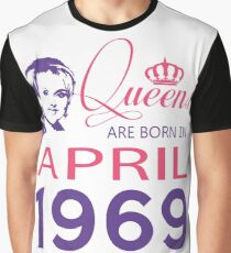 It's My Birthday 49. Made In April 1969. 1969 Gift Ideas. Graphic T-Shirt