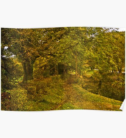 Autumn Bloom Poster
