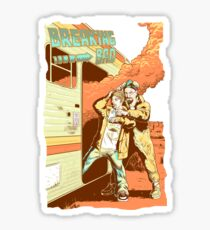 Breaking Bad to the Future Sticker