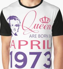 It's My Birthday 45. Made In April 1973. 1973 Gift Ideas. Graphic T-Shirt