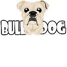 Bulldog (Fawn)- DGBigHead by DoggyGraphics