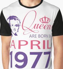 It's My Birthday 41. Made In April 1977. 1977 Gift Ideas. Graphic T-Shirt