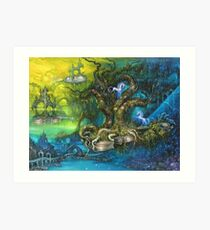 Wandering Islands from an Ancient Gigantic Symphony Art Print