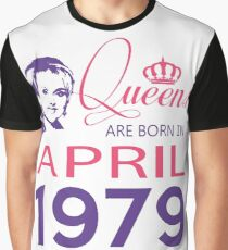It's My Birthday 39. Made In April 1979. 1979 Gift Ideas. Graphic T-Shirt