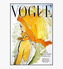 Lámina fotográfica VOGUE: Vintage 1950 Revista Publicidad Imprimir