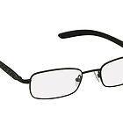 Glasses in black rim. by fotorobs