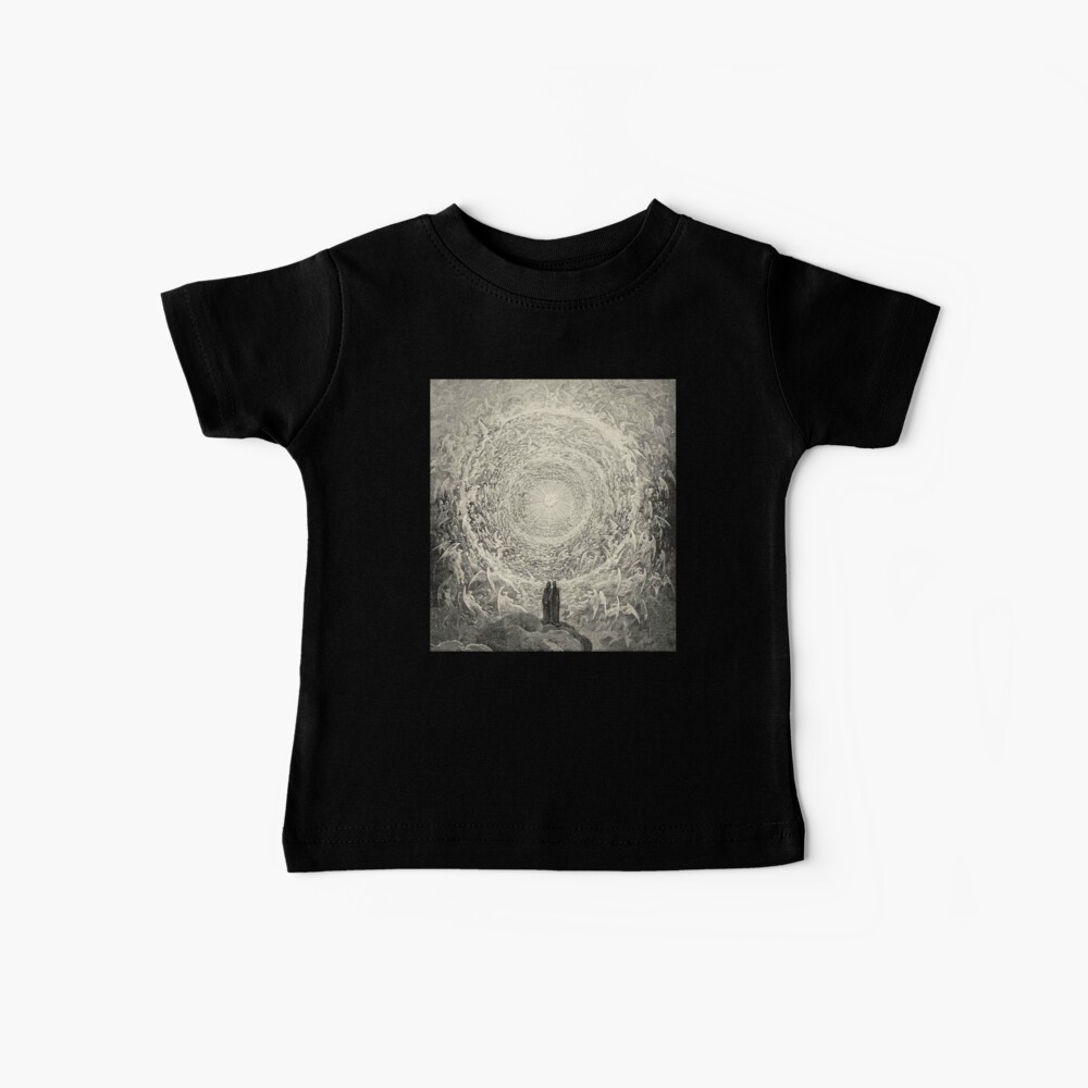 Dante, Heaven, Heavenly, The Divine Comedy, Gustave Doré, Highest, Heaven Baby T-Shirt