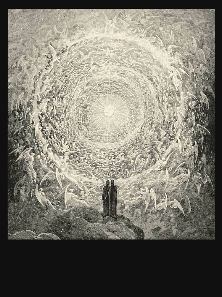 Dante, Heaven, Heavenly, The Divine Comedy, Gustave Doré, Highest, Heaven. by TOMSREDBUBBLE