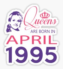 It's My Birthday 23. Made In April 1995. 1995 Gift Ideas. Sticker