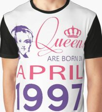 It's My Birthday 21. Made In April 1997. 1997 Gift Ideas. Graphic T-Shirt