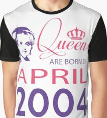 It's My Birthday 14. Made In April 2004. 2004 Gift Ideas. Graphic T-Shirt