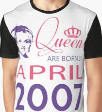 It's My Birthday 11. Made In April 2007. 2007 Gift Ideas. Graphic T-Shirt