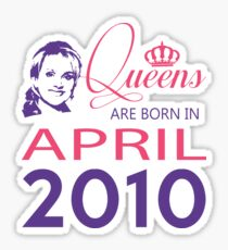It's My Birthday 8. Made In April 2010. 2010 Gift Ideas. Sticker