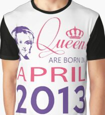 It's My Birthday 5. Made In April 2013. 2013 Gift Ideas. Graphic T-Shirt