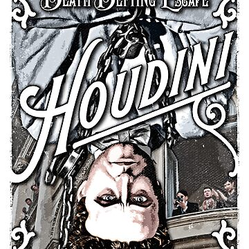 Harry Houdini Magician by unclegertrude