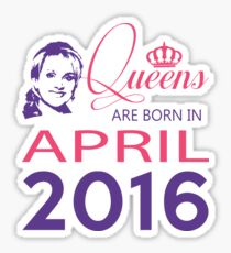 It's My Birthday 2. Made In April 2016. 2016 Gift Ideas. Sticker
