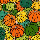 Halloween Pumpkins in Action by m-lapino